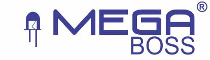 Đèn trang trí Megaboss